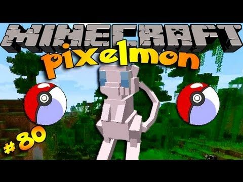 Pixelmon ! Minecraft Pokemon Mod!! Episode 80-OH MEW!!