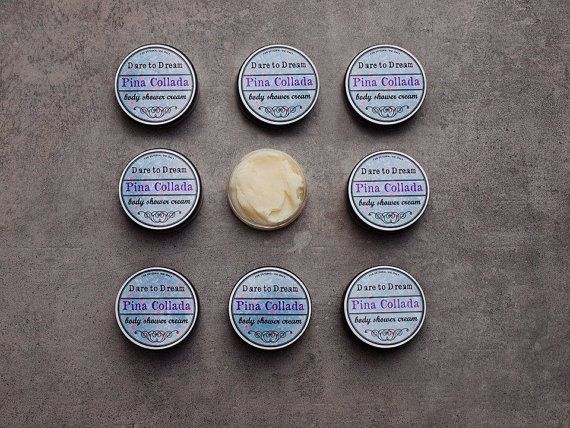 Body Shower Cream Pina Collada by ASTPRODUCTS on Etsy