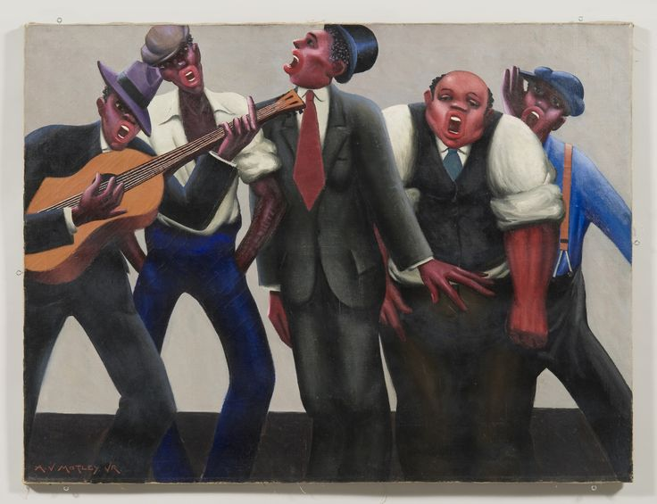 Archibald Motley  The Jazz Singers 1934  http://whitney.org/Exhibitions/ArchibaldMotley