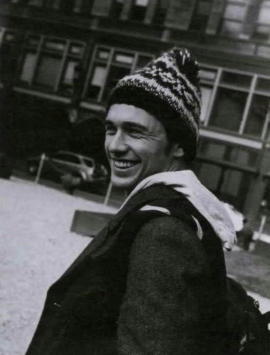 I'm in love with James Franco's smile