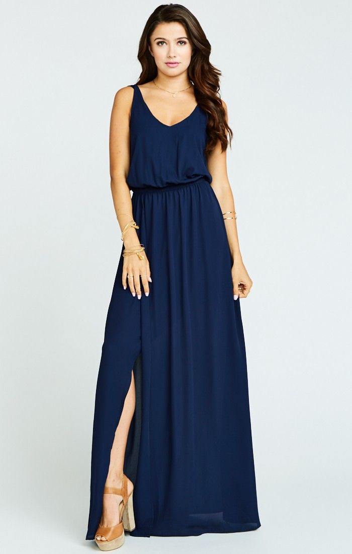 It sounds weird but if the Jocelyn Maxi and the Kiersten Maxi had a baby, it would be ever perfected Kendall Maxi. A soft V neck and low back are ultra feminine and flatter every body, the wrap around skirt that creates a slit lets you pull an Angelina stance whenever you need (you never know when you're gonna need it). Chill enough for a little pointy toed bootie and classy enough for an elegant heel. Kendall may be a young Mu but she is def on track to be your new go-to maxi.    *MADE I...