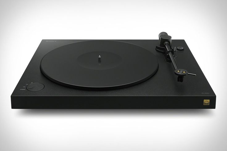Sony's Upcoming Hi-Res Turntable Is Ready to Take You Back in Time