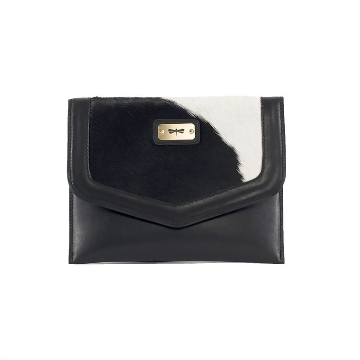 LILLE leather clutch