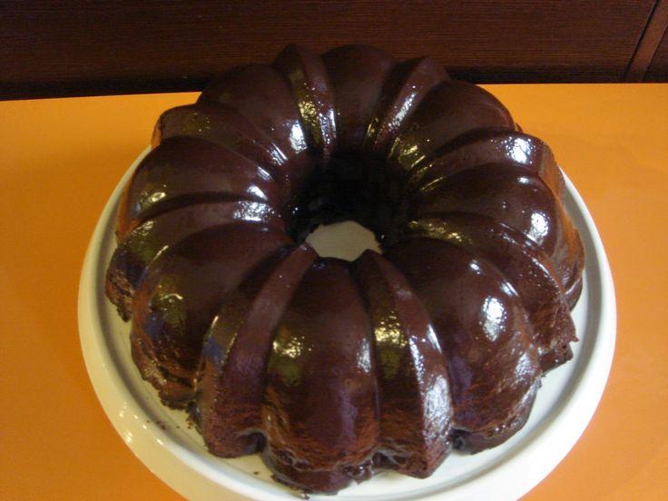 una chispa de dulzura: Devil's Food Bundt Cake