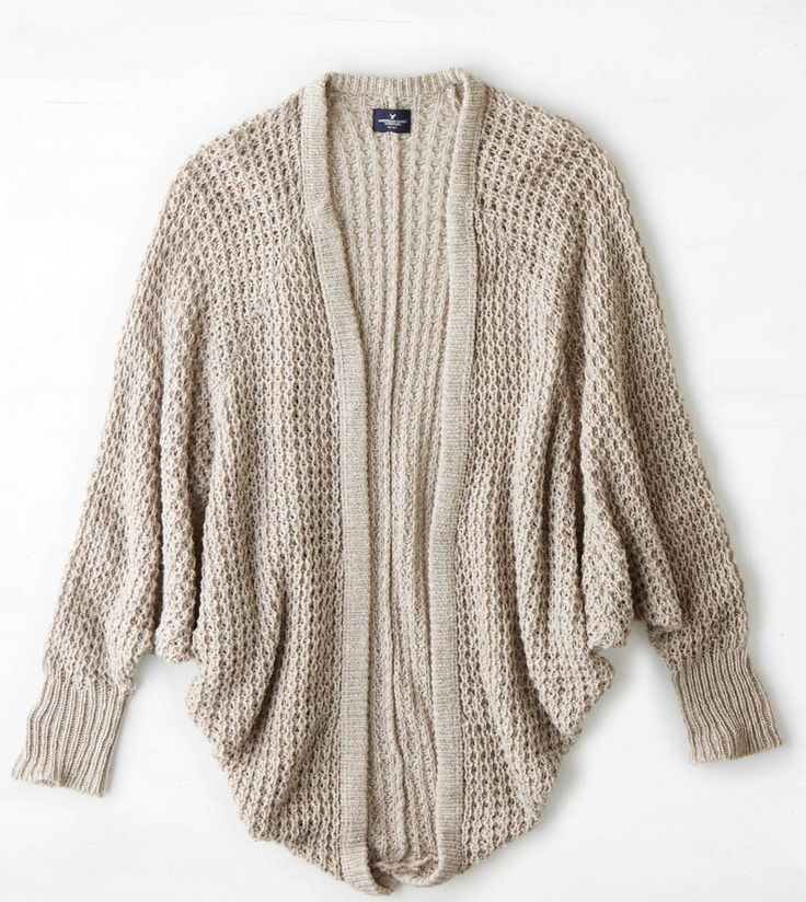 """""""AE Cocoon Sweater""""- my awesome Sista got this for me for Christmas. I love it. It is so comfy and soft."""