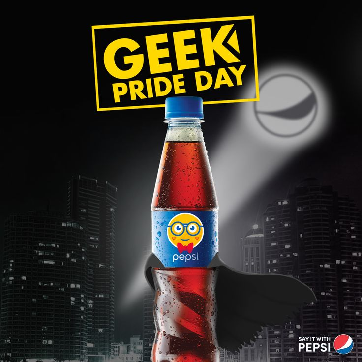 Pepsi Emoji Geek Day on Behance