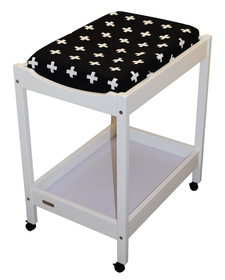 Black Cross Baby Changing Mat Cover
