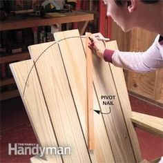 Adirondack Chair Plans How to Make an Adirondack Chair and Love Seat
