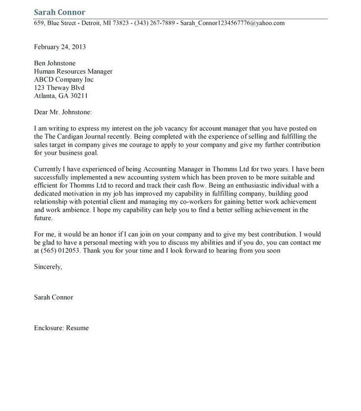Sample Cover Letter For Audit Report Internal Auditor