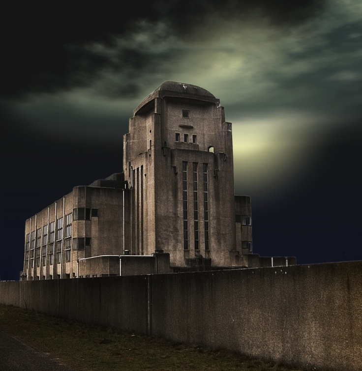 Radio Kootwijk Kathedraal Cathedral Veluwe - Art Deco Buildings