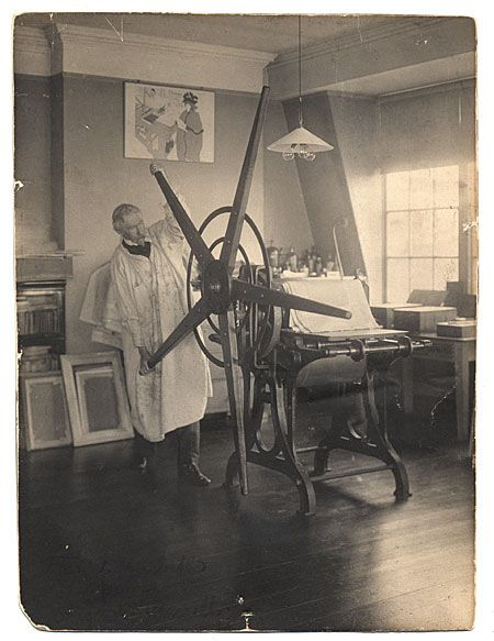 Citation: Joseph Pennell, ca. 1910 / Joseph Klima, Jr., photographer. Macbeth Gallery records, Archives of American Art, Smithsonian Institution.