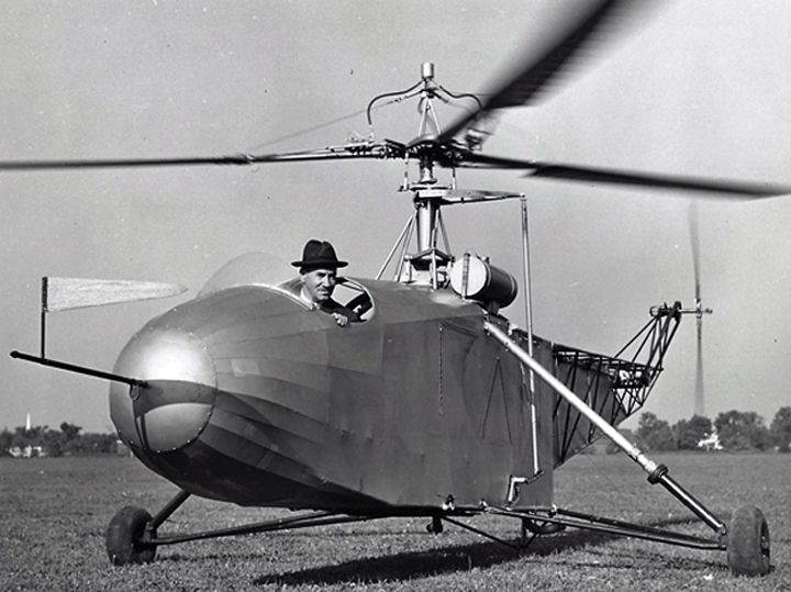 While Igor Sikorsky is undoubtedly the father of the modern helicopter, the history of the helicopter is said by many to have started with an ingenious drawing by 15th century painter and inventor, Leonardo da Vinci. Called the ornithopter flying machine, da Vinci's 1488 design was never built, but it is said to have inspired