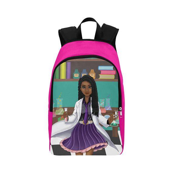 Black Backpack Personalised School Book Bag Personalized