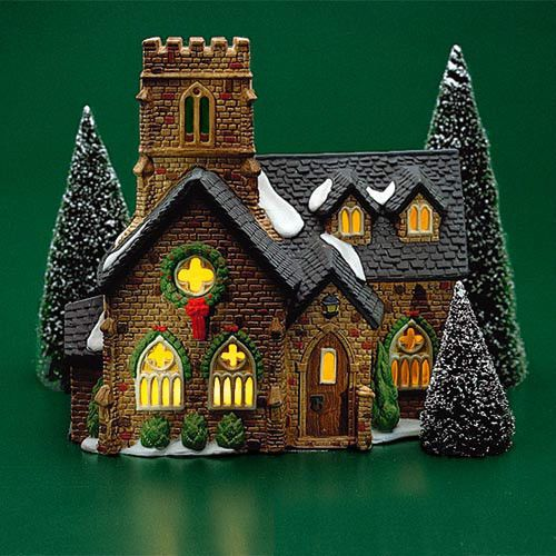 175 best churches dept 56 images on pinterest for Department 56 dickens village most valuable