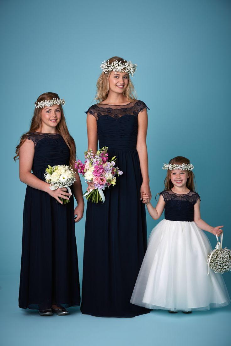 113 best bridesmaid stuff images on pinterest real life dark navy straps sleeveless ruched floor length chiffon zipper a line blue junior bridesmaid dresses ombrellifo Choice Image