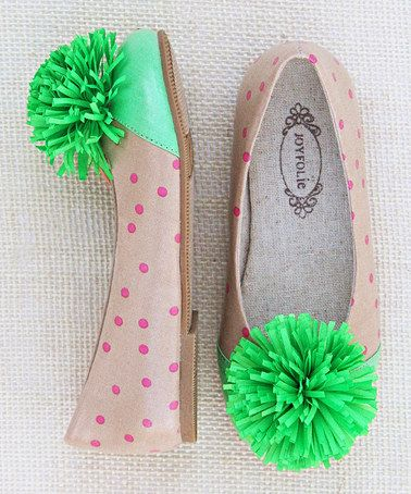 {adorable pom pom skimmers} we might need these in our life ...