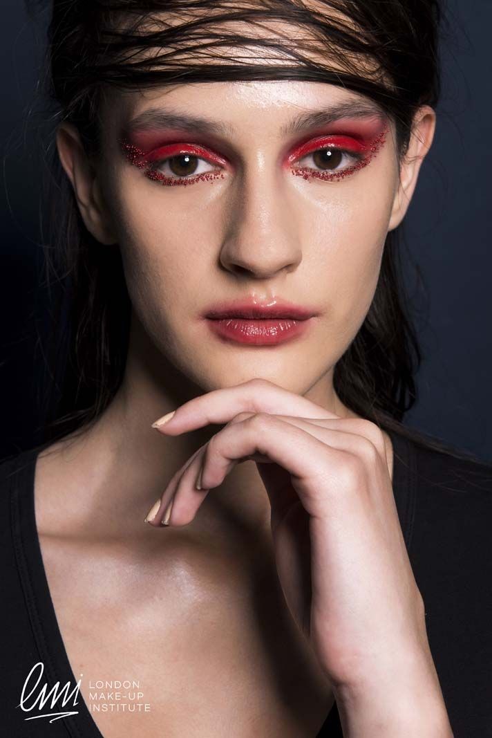 Creative Makeup from London Makeup Institute students