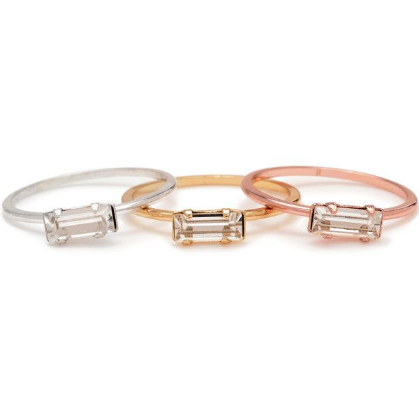 Delicate sparkle in sterling silver, 14k gold vermeil + the perfect peach toned rose... from @bingbangnyc.
