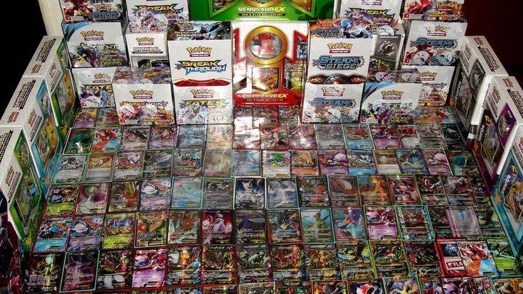 Pokemon 100 Card Lot - GUARANTEED EX / GX + 1 Pack  - Mega Full Art Secret Holos #Pokemon