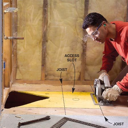 Preformed, One Piece Shower Bases Make Installing A New Shower Much Easier.  This Article Explains The Process, From Ripping Out The Old Shower Or Tub  To Ins