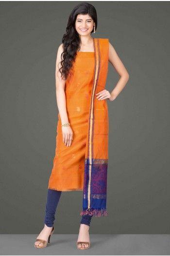 102 best Opulent Festive Weaves: Pure Kora Silk Unstitched Suits ...