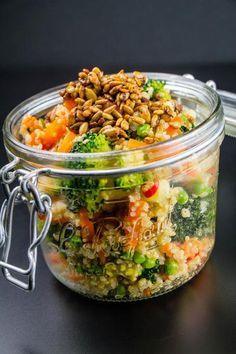 quinoa brocoli poivron graine tournesol