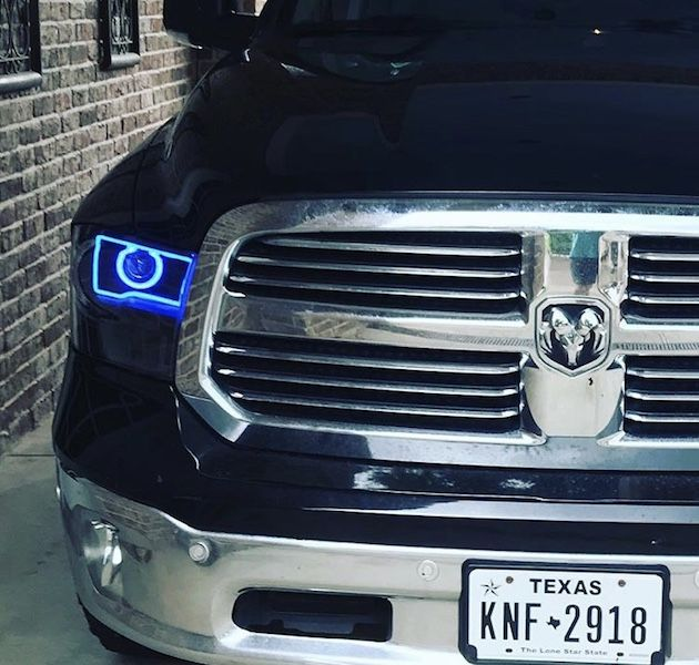 2009 2018 Dodge Ram 1500 2500 3500 Black Led Halo Headlights In 2020 Dodge Ram 1500 Dodge Ram Dodge Ram 1500 Accessories