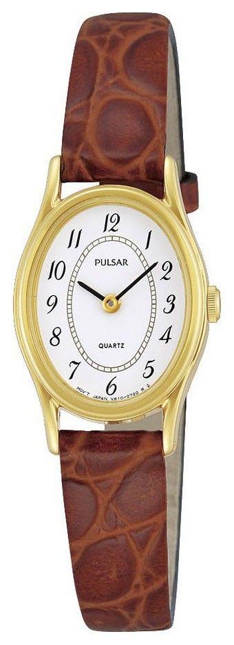 Pulsar Dameshorloge Goudkleurig & Bruine band PPGD66X1. Dit elegante horloge is al jaren populair en zal dat nog lang blijven. Goudkleurig en een bruine lederen band. Dit model is spat-waterdicht. Dit horloge heeft dat mooie en sterke Hardlexglas. https://www.timefortrends.nl/horloges/pulsar.html