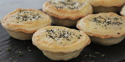 Try this Wild Mushroom Pies recipe by Chef Sian.This recipe is from the show The Great Australian Bake Off.