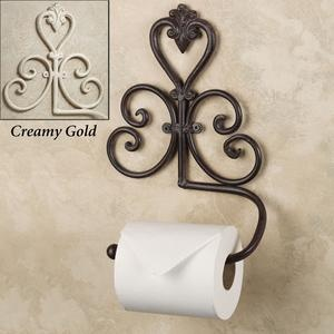 Aldabella Wrought Iron Paper Holder