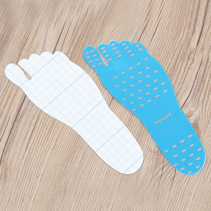 Beach Invisible Stick-Up Foot Insole Waterproof Protective Socks Pad Thermal Insulation Sale - Banggood.com