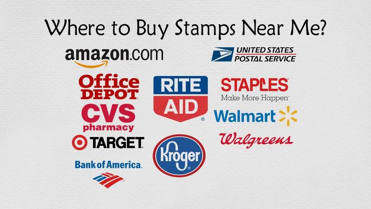 Where to Buy Stamps Near Me (20+ Places to buy Postage Stamps)