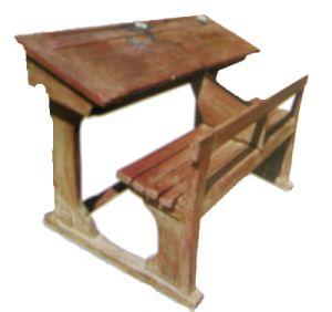 1000 id es sur le th me mobilier scolaire sur pinterest for Table d ecolier en bois