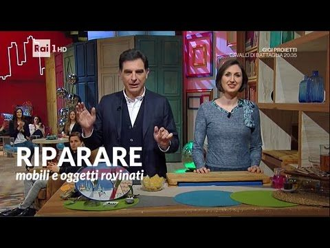 Riparare mobili e oggetti rovinati: legno, graffi, acciaio, ruggine, macchie - Lucia Cuffaro - YouTube