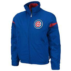 Get this Chicago Cubs Ladies Authentic Triple Peak Premier Jacket at ChicagoTeamStore.com