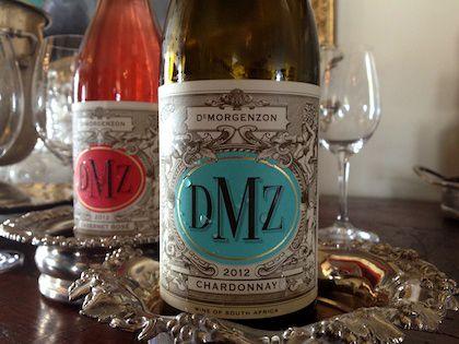 DMZ Chardonnay and Cabernet Rose