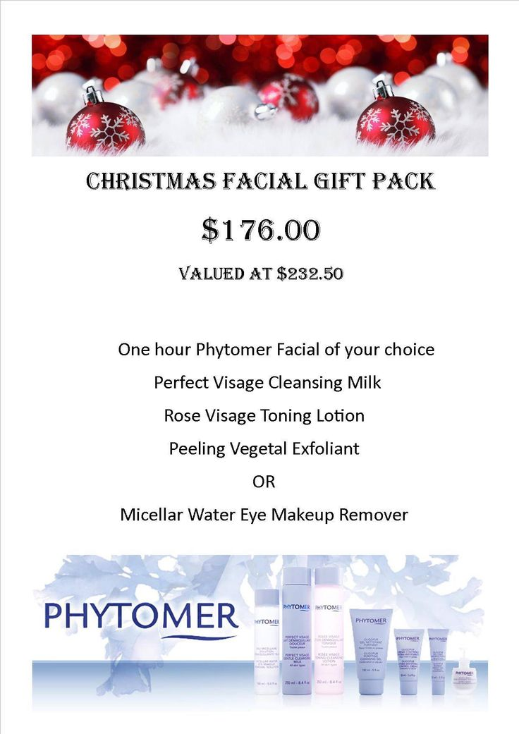 Christmas Phytomer Facial & Skincare packs. $176.00 valued at $232.50. Limited number available. Headlines Hair & Beauty 07-41254220 www.headlines4hair.net.au #phytomer #facial #skincare #christmas #spoilme #treatyouself #agiftforher #greatvalue #headlines4beauty #herveybay #skin #face #headlinesherveybay #beauty #beautytherapy #beautysalon #christmaspresent #timeout #relax #metime #herveybay #visitfrasercoast #discoverqueensland #beautyspa #giftoflove