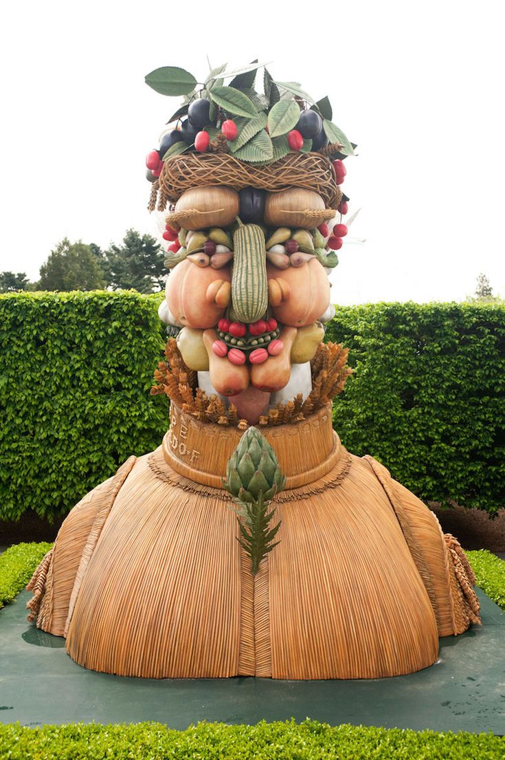 Giant Sculptural Recreations of Classic Paintings by Guiseppe Arcimboldo Tour the US