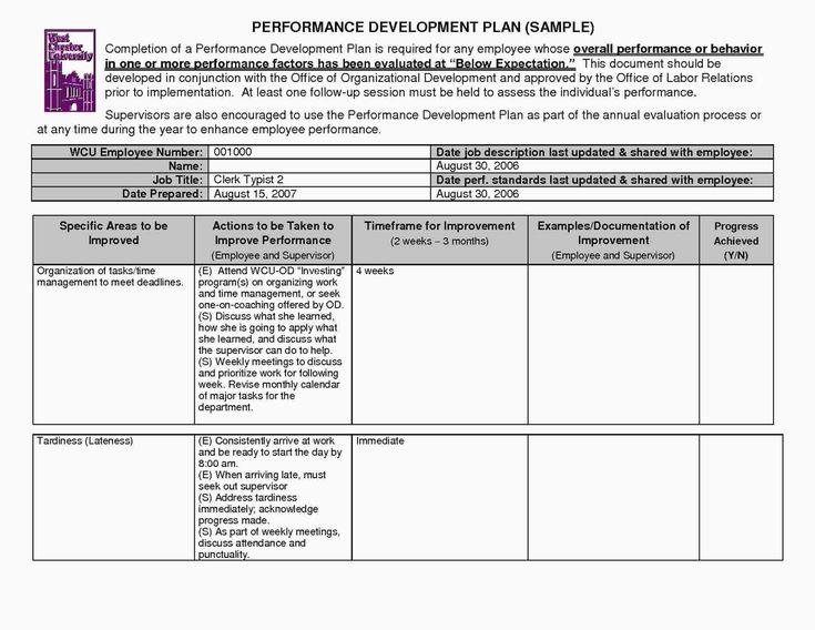 Employee corrective action plan awesome 009 employee
