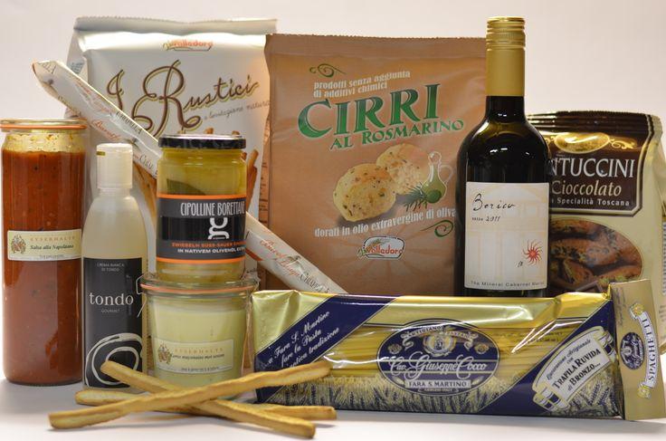 """Bongiorno Grande pakket  Nog méér genieten van Italiaanse heerlijkheden met dit uitgebreide pakket """"Bongiorno Grande"""""""
