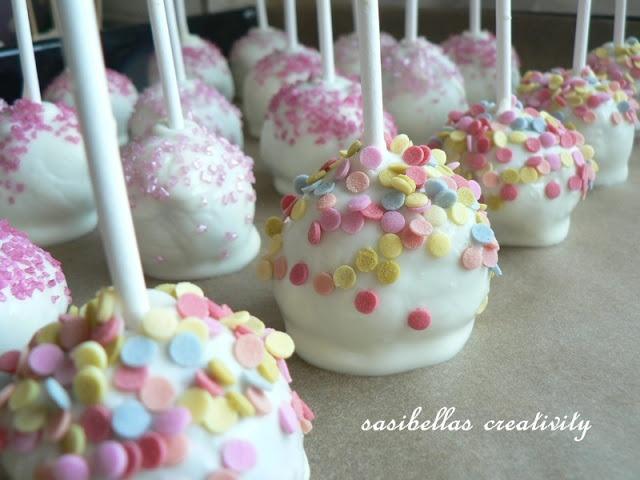 Schoko Cake Pops I sasibella.blogspot.de