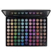 Professioneel 88 kleuren oogschaduw palette. Prachtige, hoog gepigmenteerde kleuren. Professional 88 colour eyeshadow palette. Beautiful, highly pigmented colours.