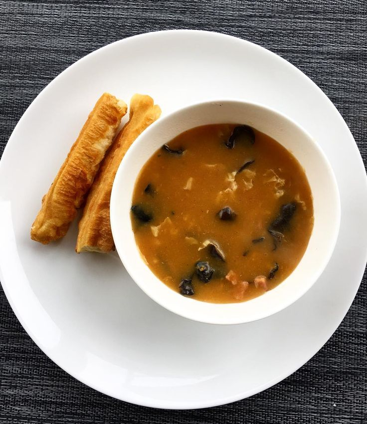 Never really liked this as a kid, cause it's too spicy for my taste. But this spicy black pepper soup is a staple for breakfast in my hometown, so I always bring back a few bags with me whenever I go home. Just used the last serving I have this morning, cause i'm going home soon! Can't wait!!! #breakfast #cook #cooking #homecooking #misshome #Zhengzhou #Henan #chinesecuisine #郑州 #河南 #胡辣汤 #油条 http://w3food.com/ipost/1501732843016884911/?code=BTXOhBvjxKv