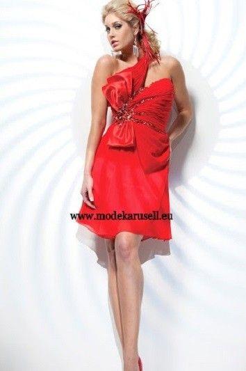 Abendkleid Cocktailkleid in Rot