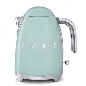 SMEG-Cordless-Electric-Green-Kettle-Jug-1-7L-Retro-50s-KLF01PGUK-1-Yr-Warranty