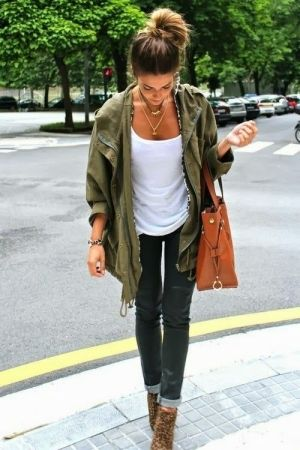 Cute Nina Dobrev fall street fashion. . . to see more click on pic