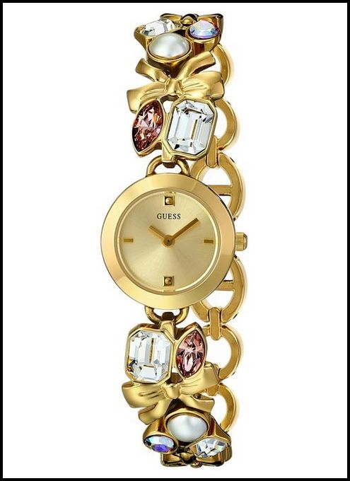 GUESS WOMEN'S U12627L1 CRYSTALLIZED ROMANCE SELF-ADJUSTABLE WATCH – REVIEW