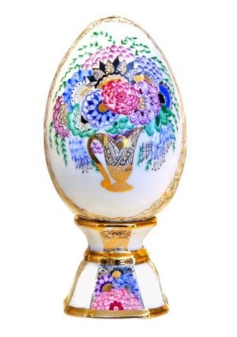 26 best easter gifts images on pinterest easter gift porcelain porcelain collectible easter egg on stand bouquet negle Image collections