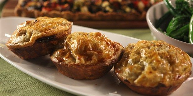 Beef and Red Wine Pies