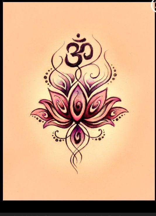 Beautiful lotus & ohm tattoo idea!! Maybe on my underarm?? | tattoo ...                                                                                                                                                                                 More